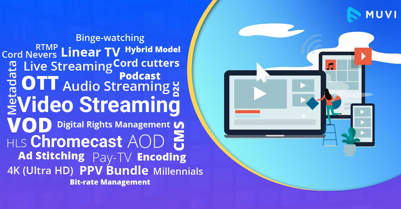 OTT Buzz words You Must Know if You own a Streaming Platform