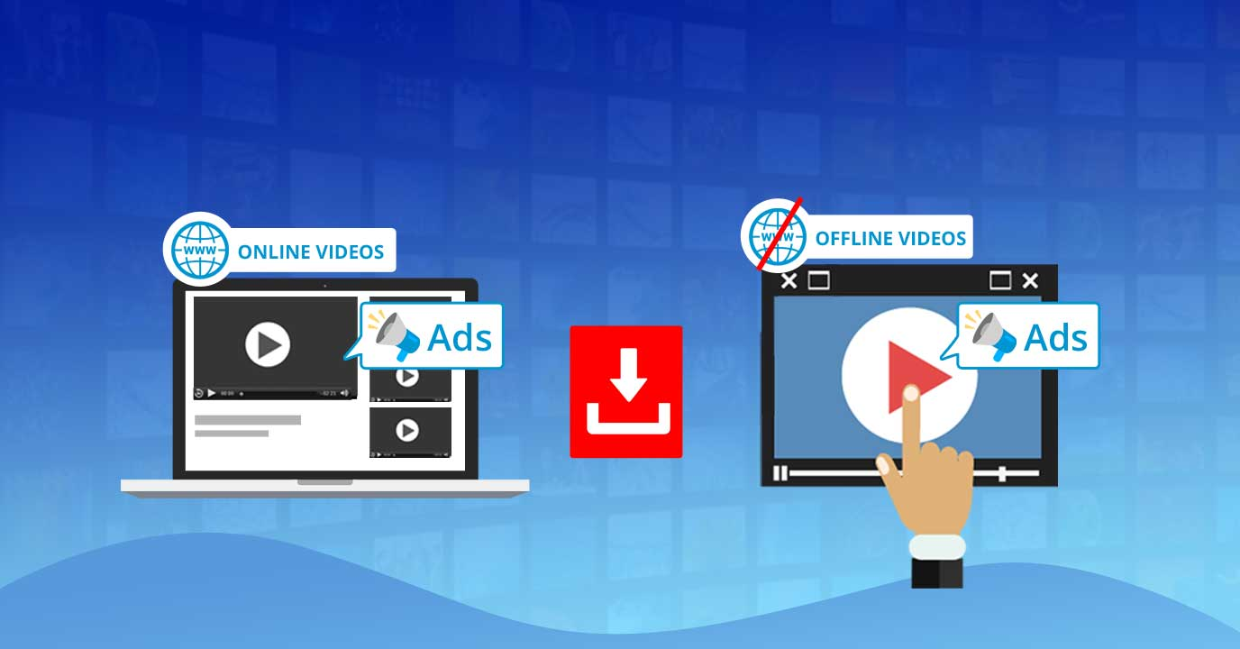 Making Dynamic Ads available in offline videos