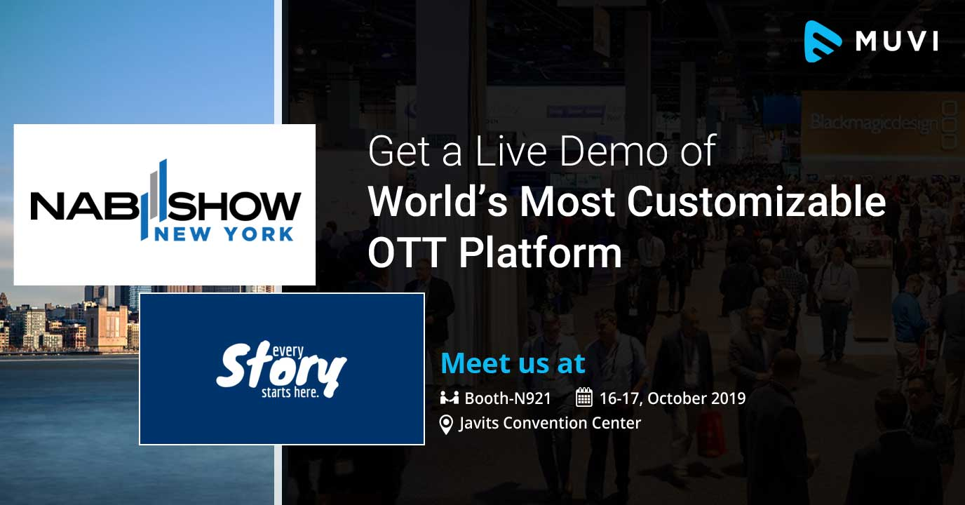 Muvi Heads to NAB NY to Showcase the World's Most Customizable OTT Platform