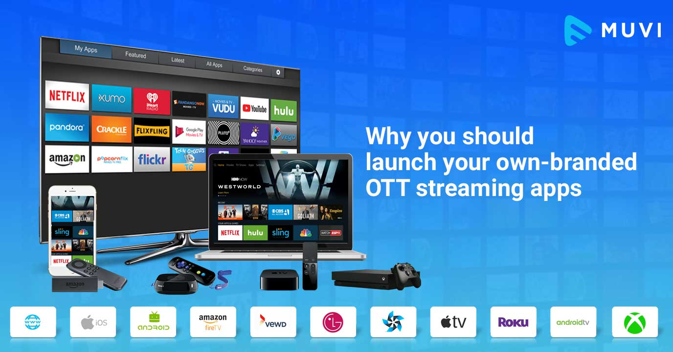 3 Reasons to Launch your Own Branded OTT Streaming App