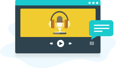 video files with multiple native language audio tracks