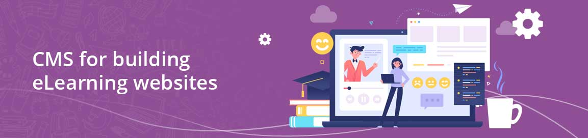 CMS for building eLearning websites