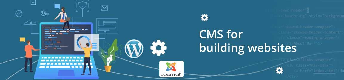 CMS for building websites