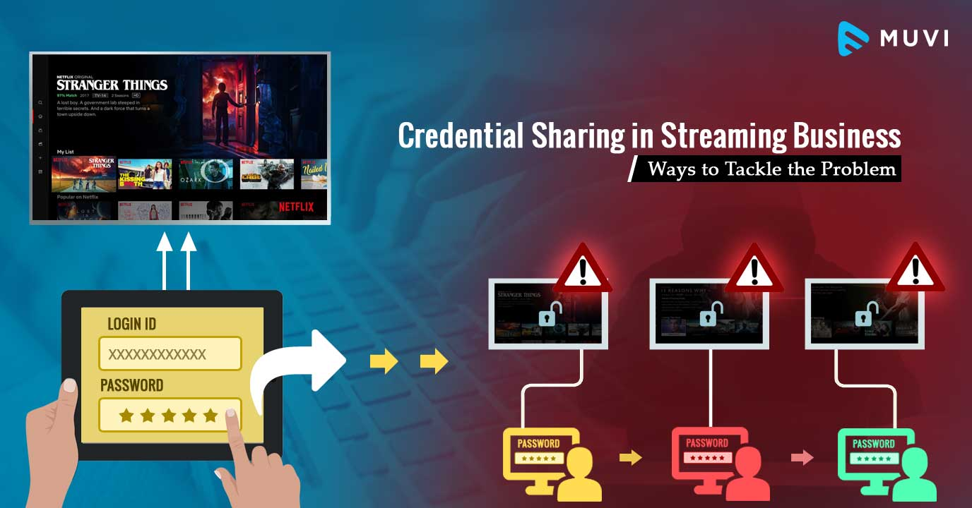 Credential Sharing in Streaming Business: Ways to Tackle the Problem