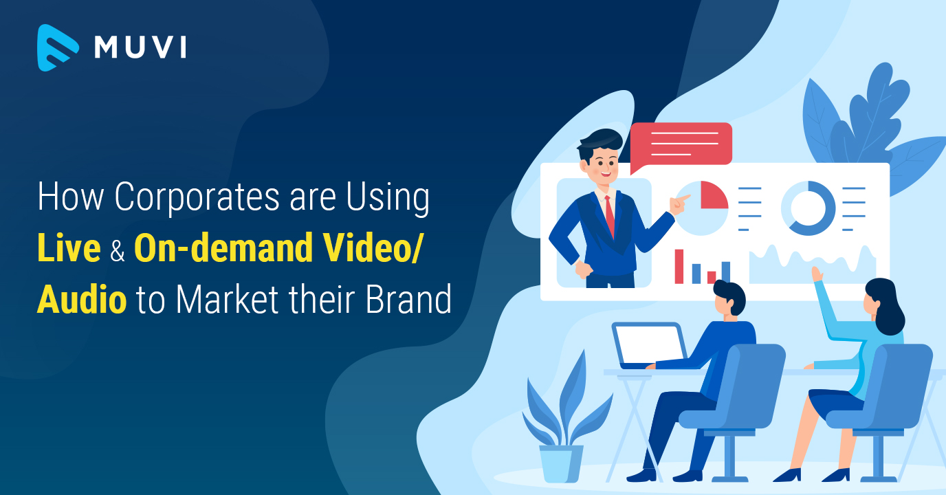 How Corporates are Using Live & On-demand Video to Market their Brand