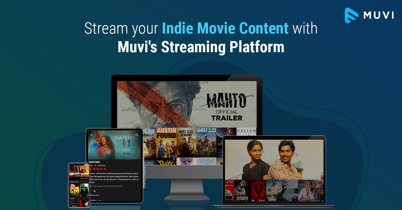 Stream & Monetize Indie Films with Muvi