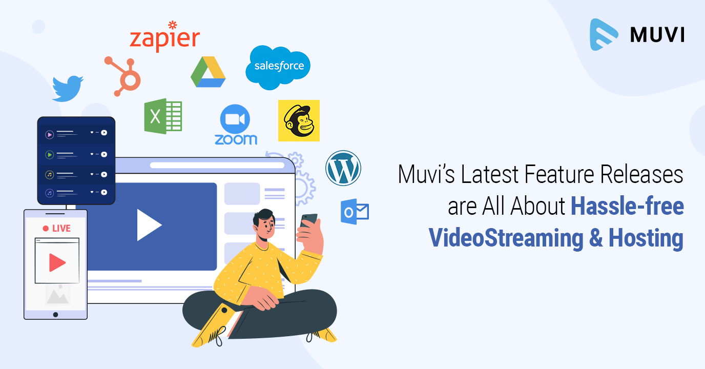 Muvi's Latest Feature Releases are All About Hassle-free Video Streaming & Hosting