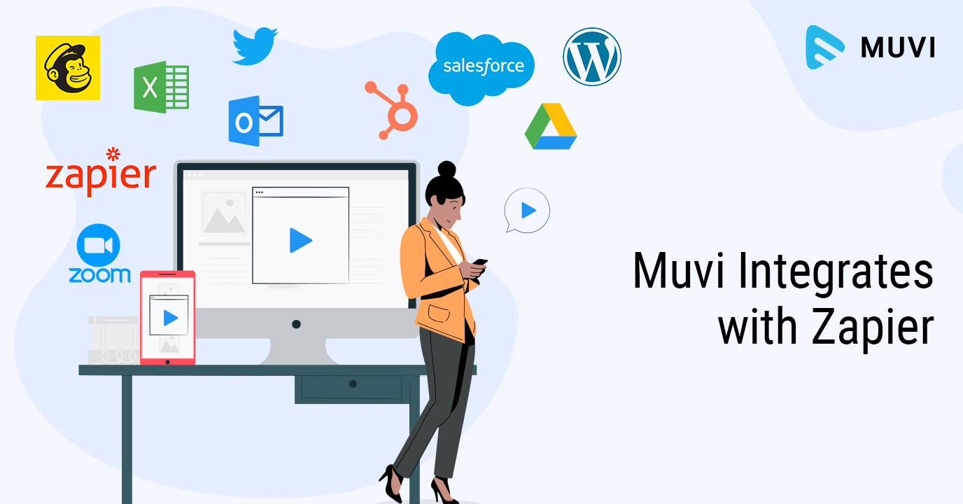 Muvi Integrates with Zapier to Streamline Workflow of your Streaming Platform