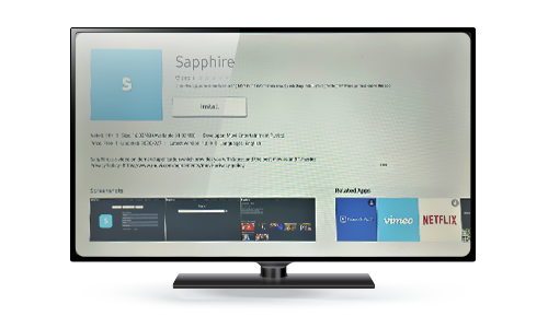 Sapphire- Samsung TV App 2