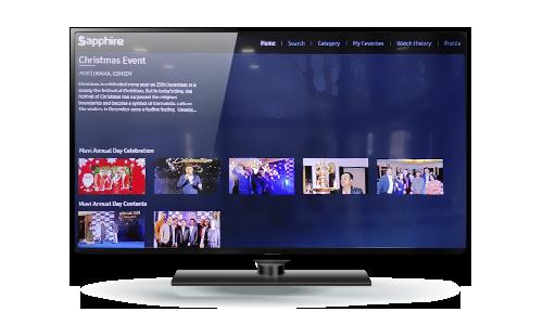 Sapphire - Samsung TV App 1