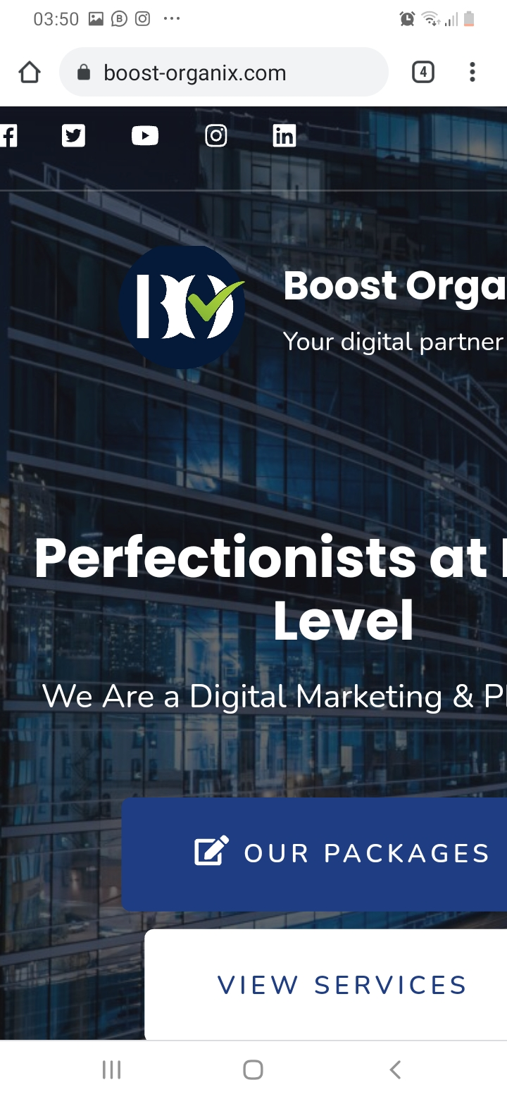 Boost organix digital marketing ltd