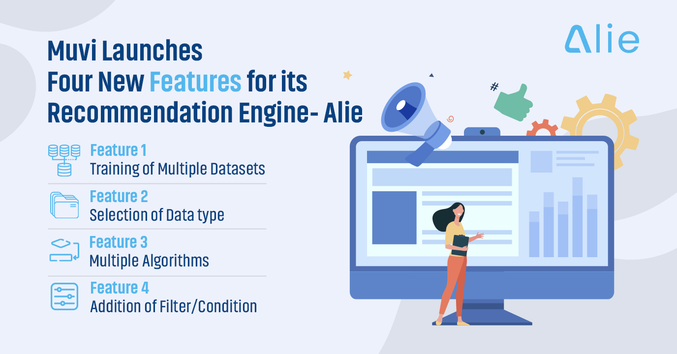 Muvi Launches Four New Features for its Recommendation Engine - Alie