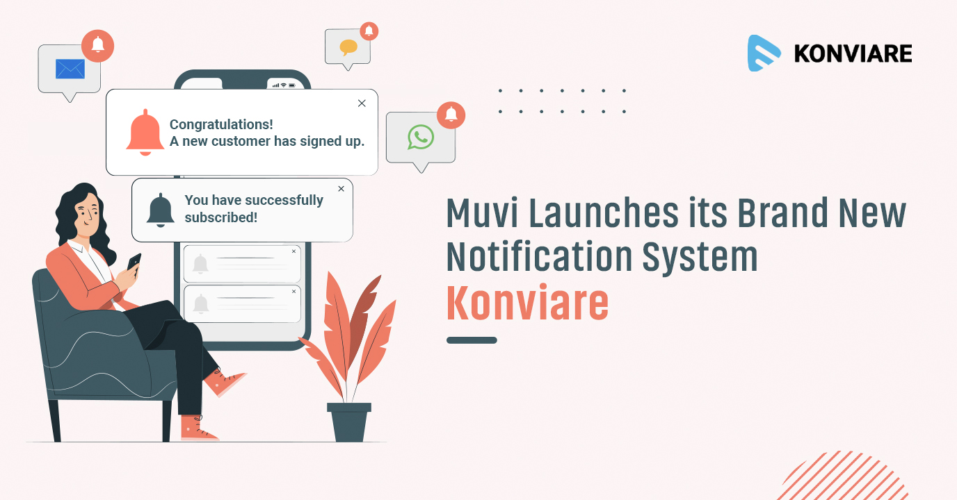 Muvi Launches its Brand New Notification System Konviare