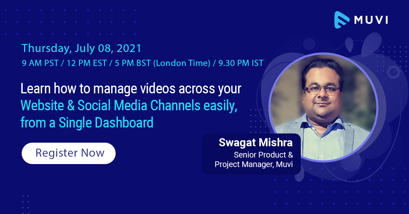 Learn how to manage videos across your Website & Social Media Channels easily, from a Single Dashboard