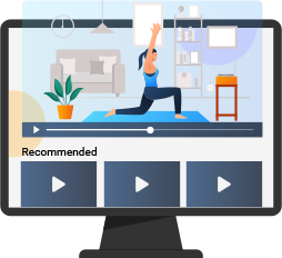 Personalized Fitness Streaming App