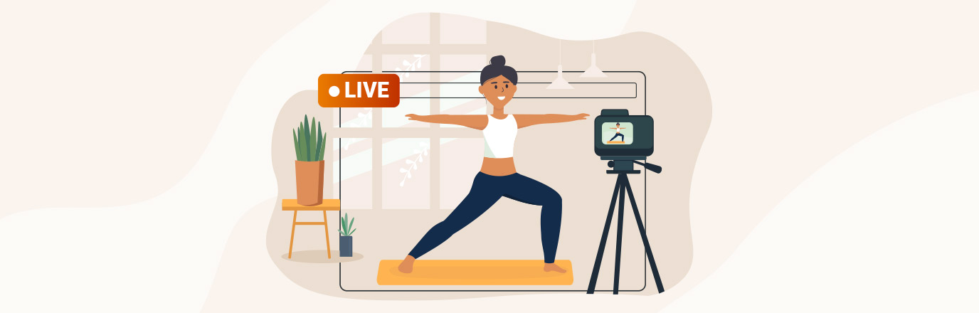 live streaming fitness classes
