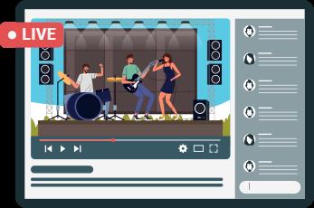 Video Livestreaming platform