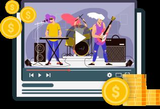 Monetize livestream