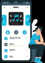 audio on-demand