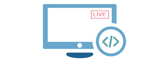 Live Streaming - Embed Live Streaming